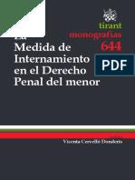 La medida de internamiento en el derecho penal del menor-.pdf