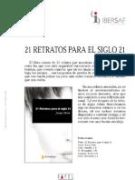 MISCELANEA_Ficha Tecnica_21 Retratos Para El Siglo XXI
