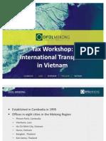 DFDL Tax Workshop - International Transport 110310_Final