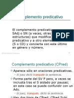 Complemento predicativo y atributo (2)