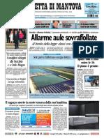 Gazzetta Mantova 24 Settembre 2010