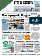 Gazzetta Mantova 25 Novembre 2010