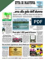 Gazzetta Mantova 25 Settembre 2010