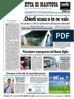 Gazzetta Mantova 25 Luglio 2010