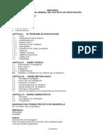 Proyecto de Investigacion Maestrias Estructura LUFOR