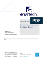 20003-SPE-200.0 - Envirtech Tsunami Warning System - Surface Buoy Specifications (Tsunami Buoy)