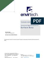 20003-SPE-200.0 - Envirtech Tsunami Warning System - Surface Buoy Specifications (Tsunami Buoy)