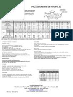 Catálogo Técnico Polia de Ferro Canal V - MADEMIL