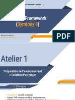 Symfony 3- Atelier 1 - Création d'un projet