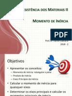 MOMENTO DE INÉRCIA - CUESP