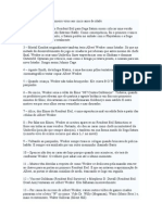 61 verdades sobre wesker