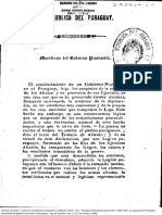 Manifiesto Del Gobierno Provisorio 19 de setiembre de 1869