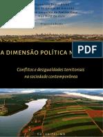 A Dimensão política no espaço conflitos e desigualdades territoriais na sociedade contemporânea