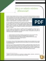 Colombia y mínimo diferencial V2