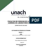 ANALISIS LA GACETA N°2 - Eestandarización y control de calidad-Karen Garzon