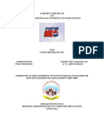 A PROJECT REPORT ON PEPSICO FINAL