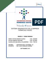 PROYECTO FINAL FARMACIAS CHAVEZ