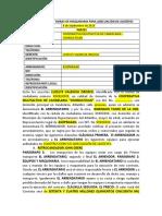 MODELO CONTRATO ARRIENDO MAQUINARIA