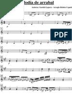 Melodia de Arrabal Violín 2º