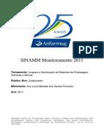 Apostila  - Limpeza e Sanitização de Materias de Embalagem Vidrarias e Aéreas
