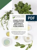 CDB_Um Guia Para o Universo dos Cosmeticos Naturais_Formulacoes Cosmeticos
