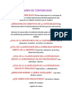 EXAMEN DE CONTABILIDAD DE  DELIA SOLLASE