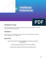 TENDENCIAS PEDAGOGICAS