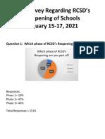 RTA Survey January 2021