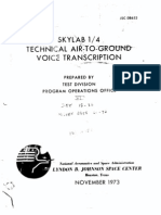 Skylab 1/4 Technical Air-To-Ground Voice Transcription Vol 6 of 7