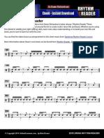 Exploring Rhythm Reader