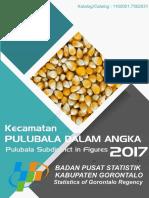 Kecamatan Pulubala Dalam Angka 2017