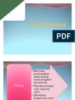 Jinising tembung (1)