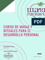 2DO MÓDULO CURSO DE MAGIA Y RITUALES PARA EL DESARROLLO PERSONAL