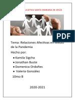 Construcción de La Crónica Periodística-PANDEMIA