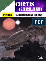 [Bolsilibros] [Ciencia Ficcion Astri 29] Garland, Curtis - El horror llego del mar [57471] (r1.0)