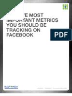 Top Five Metrics on Facebook