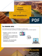 7. GRUPOS VIRTUALES Y TELEREHABILITACIÓN