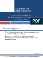 MI.SEPARATA 3. PLAN DE MARKETING