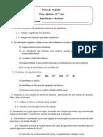 Ficha de FQ 10 - Misturas e Substâncias