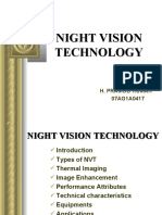 Night Vision Tech Ppt Pramod