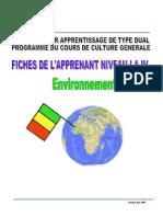 FicheEnvir