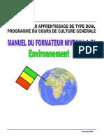 ManuelEnvironnement