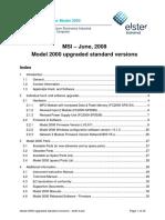 Model 2000 upgraded standard versions - draft 2