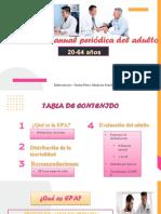 Evaluación Periódica del adulto 20-64