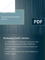 Erosion and Deposition Process