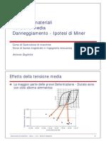 fatica 7 - tensione media - danneggiamento ipotesi di miner. v2.0