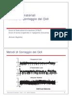 fatica 8 - metodi di conteggio dei cicli v2.0