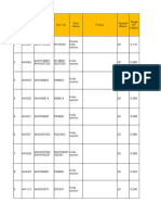 Requirement list for JD (P1-138)