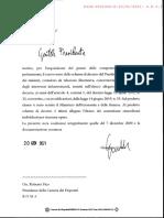 Nuovo Dpcm Opere Infrastrutturali Con l'Elenco Dei Commissari Per Ogni Opera 20 Gennaio 2021