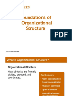 Foundations of Organizational Structure-Prince Dudhatra-9724949948